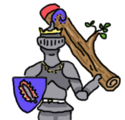 For those unfamiliar with the SCA, this is a Tree-Weilding Atlantian Duke (TM)